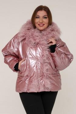 Женская зимняя куртка 5006 Розовый