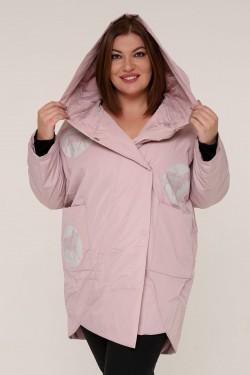 Женская весенне-осенняя куртка 211-2 Розовый