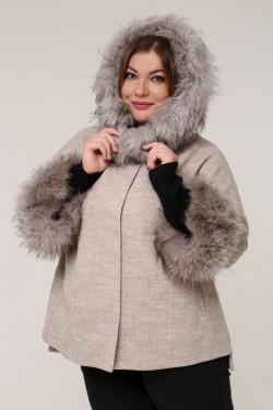 Женская зимняя куртка 190-2 Серый