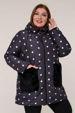 Женская зимняя куртка 203-51 Черный