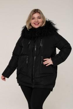 Женская зимняя куртка 203-18 Черный