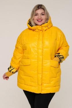 Женская зимняя куртка 20366 Желтый