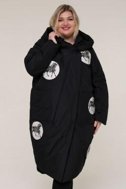 Женская зимняя куртка 212-2 Черный