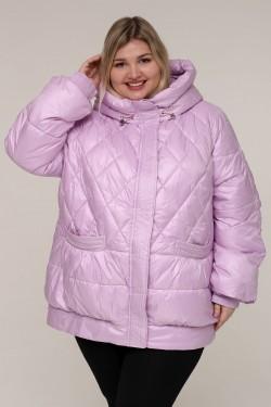 Женская зимняя куртка 20332 Сиреневый