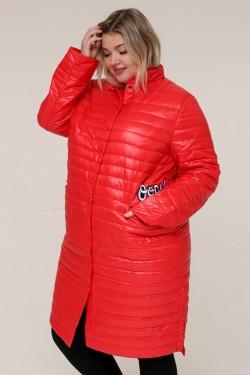 Женская весенняя куртка 16889 Красный