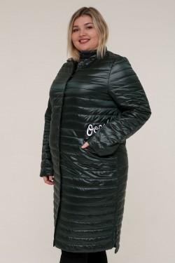 Женская весенняя куртка 16889 Зеленый