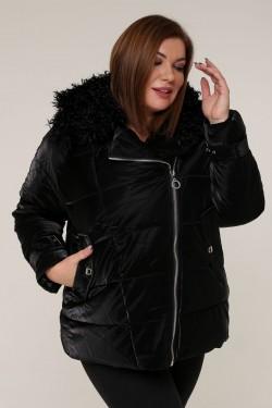 Женская зимняя куртка 20439 Черный