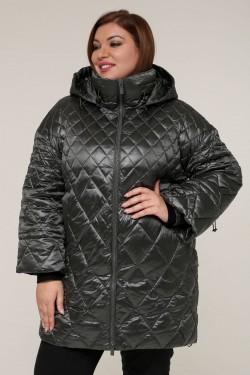Женская зимняя куртка 20338 Зеленый