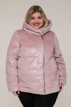 Женская зимняя куртка 20553 Розовый Бархат