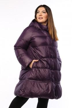 Женское пальто, А 206, Слива