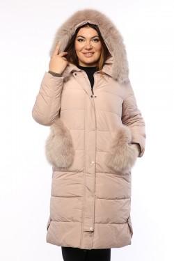 Женское пальто, А 101, Пудра