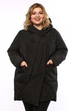 Женское пальто, А 211, Черный