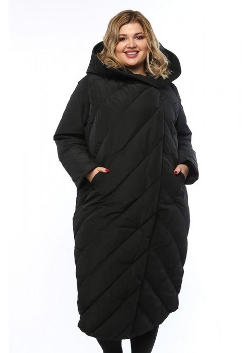 Женское пальто, А 169, Черный