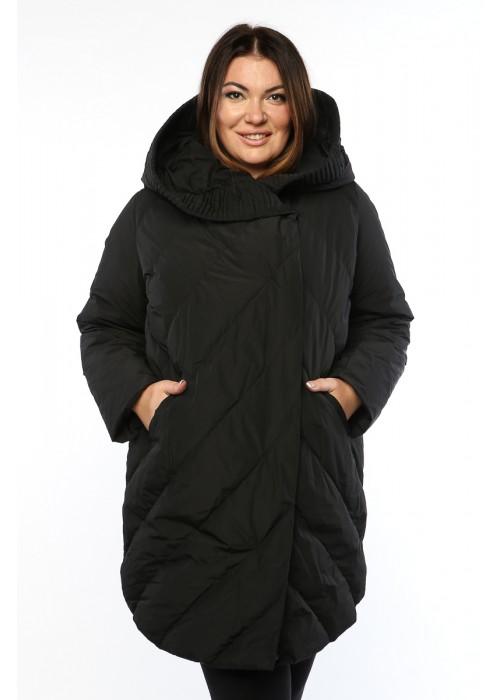 Женское пальто, А 169-1, Черный