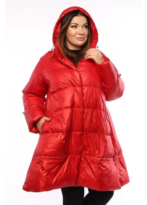 Женское пальто, А 206, Красный