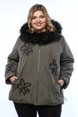 Женское пальто, 19399, Хаки