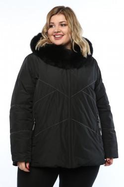 Женское пальто, 19311, Черный