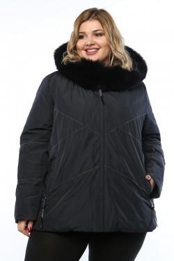 Женское пальто, 19311, Синий