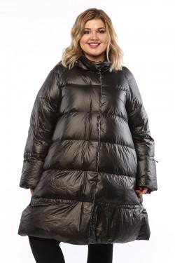 Женское пальто, А 206, Черный