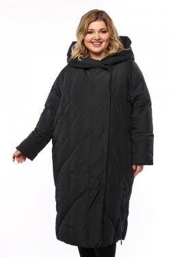 Женское пальто, 19330, Синий