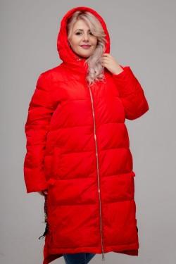 Женское зимнее пальто 18-094, Красный