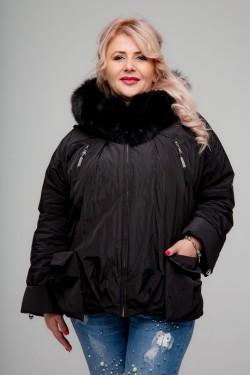 Женская зимняя куртка, А-661, Черный