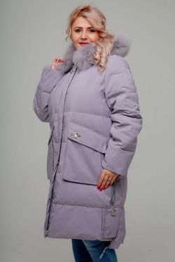 Женское зимнее пальто, 236-81 Стрекоза, Сиреневый