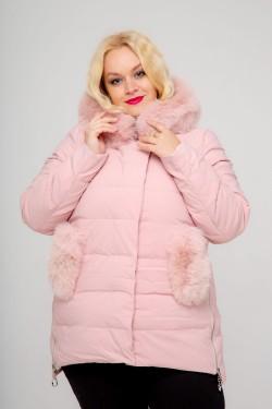 Женское куртка, 726-81, Пудра