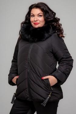 Женская зимняя куртка, А-251, Черный