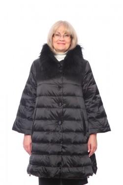 Женская куртка, арт. 15662-1 с мехом, холлофайбер