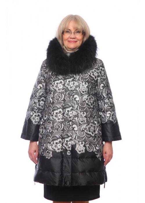 Женская куртка, арт. 15791-1 с мехом, холлофайбер