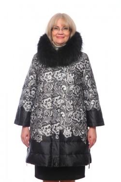 Женская куртка, арт. 15791-1 с мехом, гусиный пух