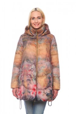 Женская куртка, арт. 1225-2, гусиный пух
