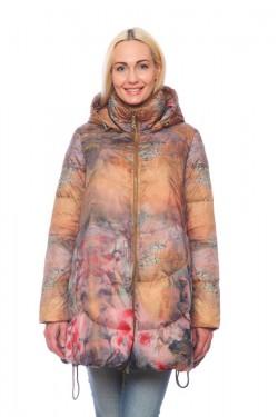 Женская куртка, арт. 1225-2, холлофайбер