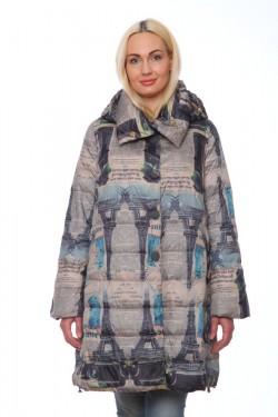 Женская куртка, арт. 17128-1, холлофайбер