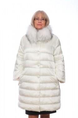 Женская куртка, арт. 15662-2 с мехом, гусиный пух