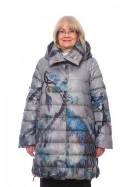 Женская куртка, арт. 17128-2, гусиный пух