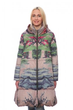 Женская куртка, арт. 16936-2, гусиный пух