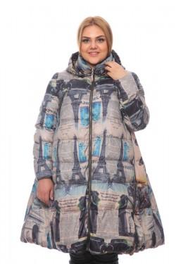 Женская куртка, арт. 17127, гусиный пух