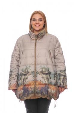 Женская куртка, арт. 16878-12, гусиный пух