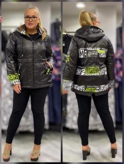 Женская  куртка весенне-осенняя 61835 Черный