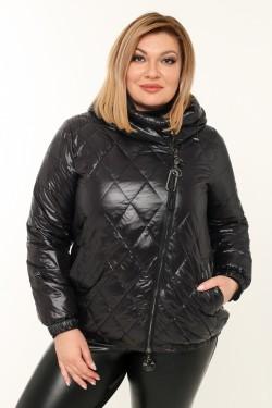 Женская куртка весенне-осенняя 71073 Черный