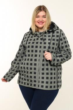 Женская куртка весенне-осенняя 211-25 Хаки