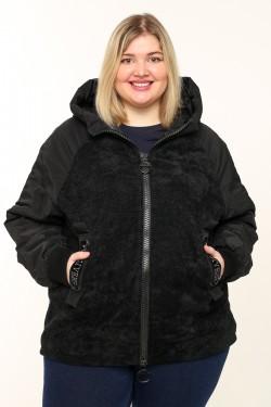 Женская куртка весенне-осенняя 7595 Черный
