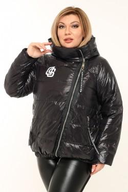 Женская куртка весенне-осенняя 78430 Черный