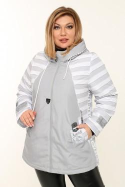 Женская куртка весенне-осенняя 61745 Белый