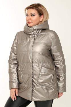 Женская куртка весенне-осенняя 21061 Серый