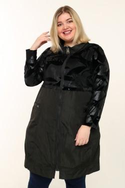 Женская куртка весенне-осенняя 6920 Черный