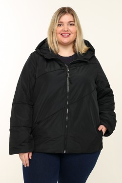 Женская куртка весенне-осенняя 211-13 Черный