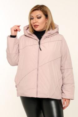 Женская куртка весенне-осенняя 211-13 Розовый